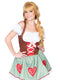 Leg Avenue Bavarian Cutie Oktoberfest Dress Costume