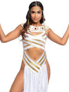 Leg Avenue 2-Piece Egyptian Goddess Cleopatra Costume
