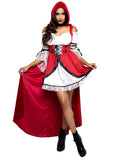 Leg Avenue 2-Piece Storybook Red Riding Hood Costume Set