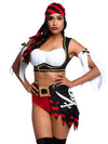 Leg Avenue 4-Piece Wicked Pirate Wench Costume Set