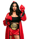 Leg Avenue 5-Piece Knockout Champ Boxer Costume Set