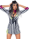 Leg Avenue Beetle Bombshell Swing Dress Costume Set