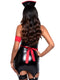Leg Avenue 4-Piece Naughty Nurse Mini Dress Costume Set