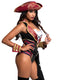 Leg Avenue 4-Piece Sultry Swashbuckler Costume Set