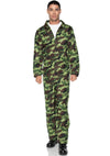 Leg Avenue Zippered Jumpsuit Costume for Men