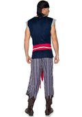 Leg Avenue Mens 3-Piece Plank Walking Pirate Costume Set