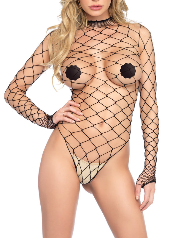 Wide Net Bodysuit