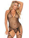 Leg Avenue 2-Piece Industrial Net Suspender Bodystocking