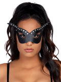 Leg Avenue Bad Girl Studded Costume Mask With Strap