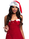 Leg Avenue Naughty or Nice Reversible Plush Santa Hat