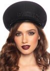 Leg Avenue Rhinestone Festival Officer Hat