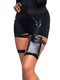Leg Avenue Multi Strap Garter Utility Belt With Pocket