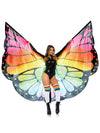Leg Avenue Festival Butterfly Wing Halter Cape with Batons