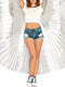 Leg Avenue 360 Degree Pleated Halter Isis Extension Wings