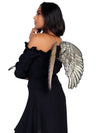 Leg Avenue Golden Sequin Costume Angel Wings