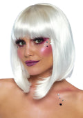 "Leg Avenue 13"" Pearl Short Natural Bob Costume wig With Bangs"