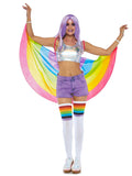 Leg Avenue Rainbow Costume Festival Wings