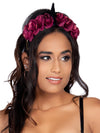 Leg Avenue Dark Velvet Unicorn Flower Costume Headband