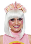 Leg Avenue Pastel Velvet Unicorn Flower Costume Headband