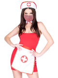 Leg Avenue 3-Piece Nurse Costume Kit With Hat