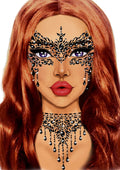 Leg Avenue Masquerade Adhesive Face Jewels Sticker Set