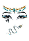 Leg Avenue Cleopatra Adhesive Face Jewels Sticker Set