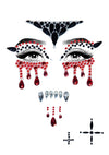 Leg Avenue Vampire Adhesive Face Jewels Sticker Set