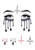 Leg Avenue Possessed Adhesive Face Jewels Sticker Set