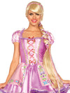 "Leg Avenue 45"" Rapunzel Long Braided Costume Wig With Ribbons"