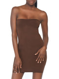 Leg Avenue Seamless Strapless Bodycon Dress