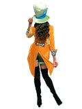 Leg Avenue 4-Piece Classic Mad Hatter Costume Set