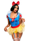 Leg Avenue 3-Piece Miss Snow White Princess Costume Set