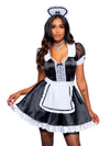 Leg Avenue 3-Piece Classic French Maid Costume Dress Set
