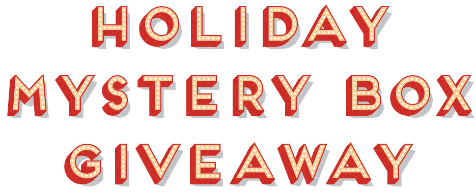 Holiday Mystery Box Giveaway