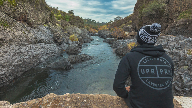 Bear Hole, Diversion Dam, Bidwell Park - UPR PRK Clothing