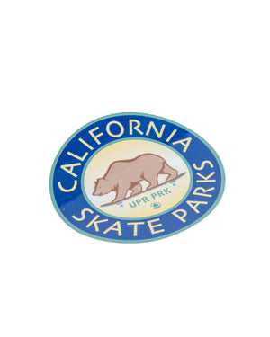 California Skate Parks Sticker Decal
