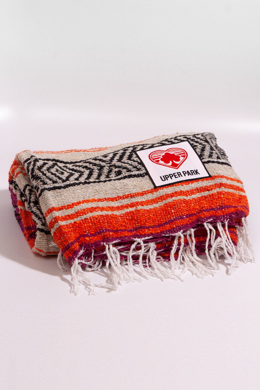 Mexican Blanket Hot Pink/Orange/Tan