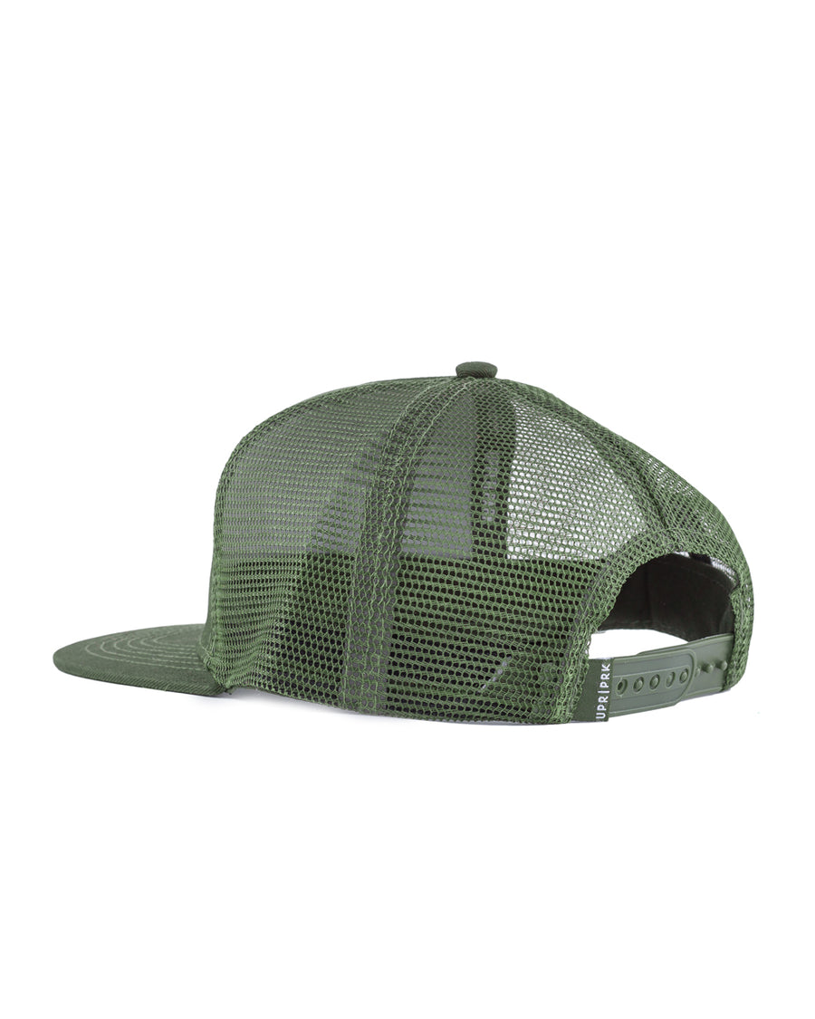 Olive Box Logo Trucker Hat
