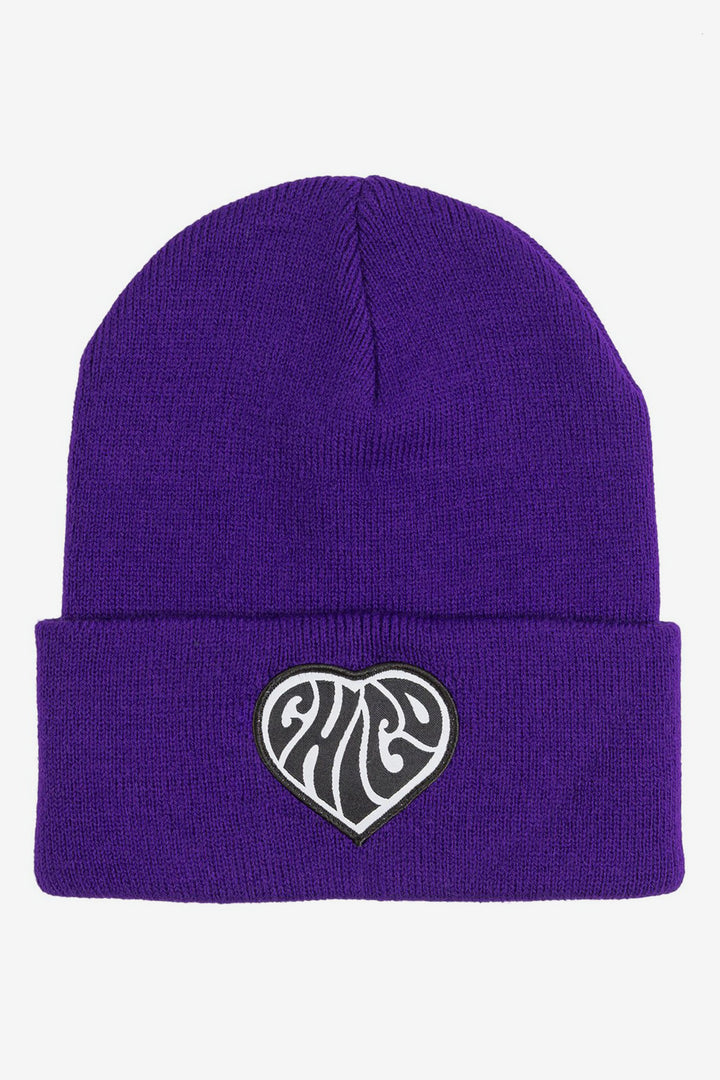Psychedelic Chico Beanie Athletic Purple