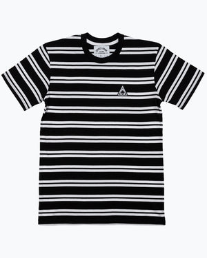 Pyramid Patch Stripe Tee