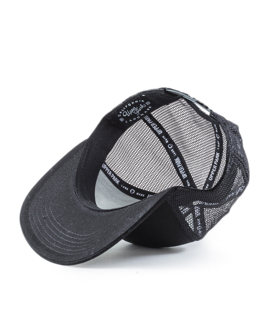 Republic Pyramid Trucker Hat Black