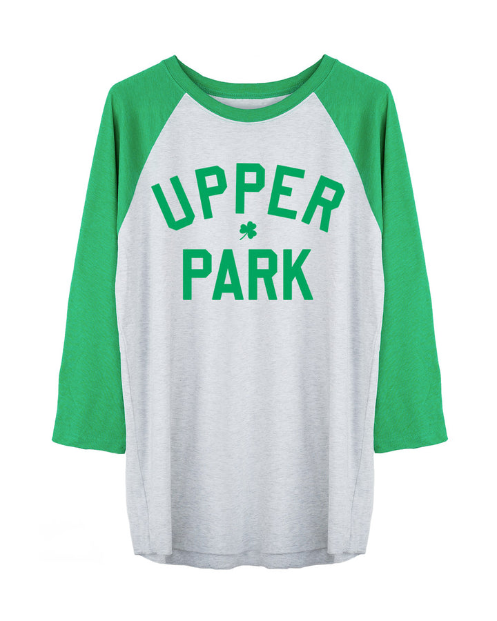 St Paddy's Day Block Letter Raglan