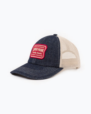 Truck Stop Trucker Hat Denim