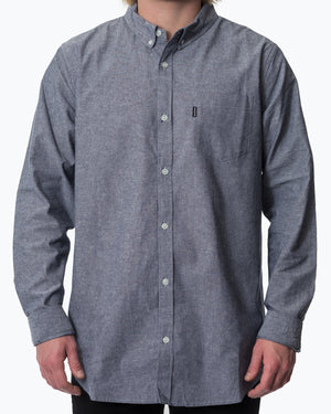UPR PRK Chambray Button Down Indigo