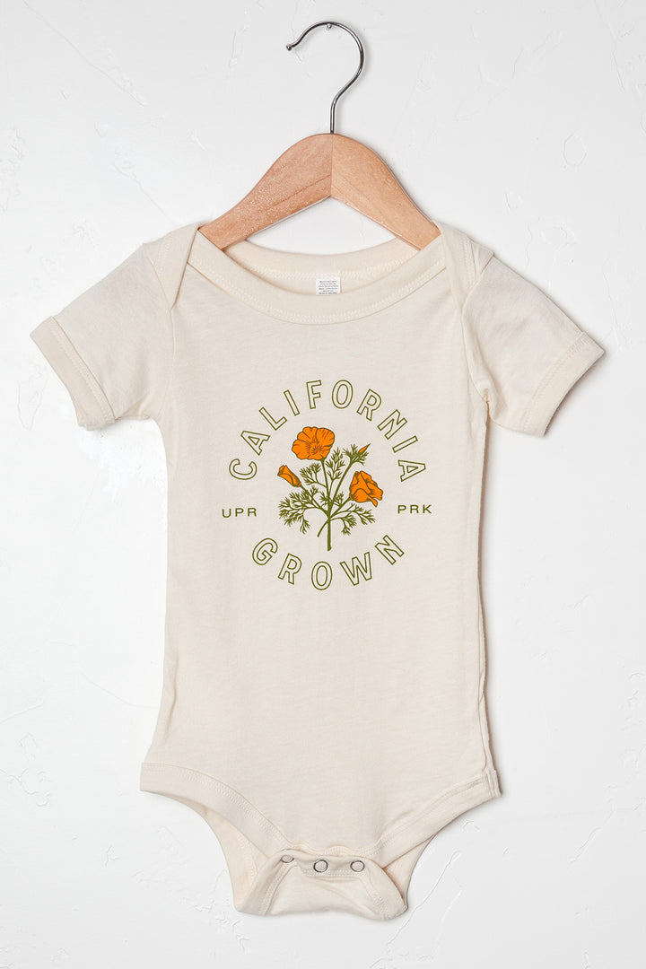 California Grown Onesie Cream
