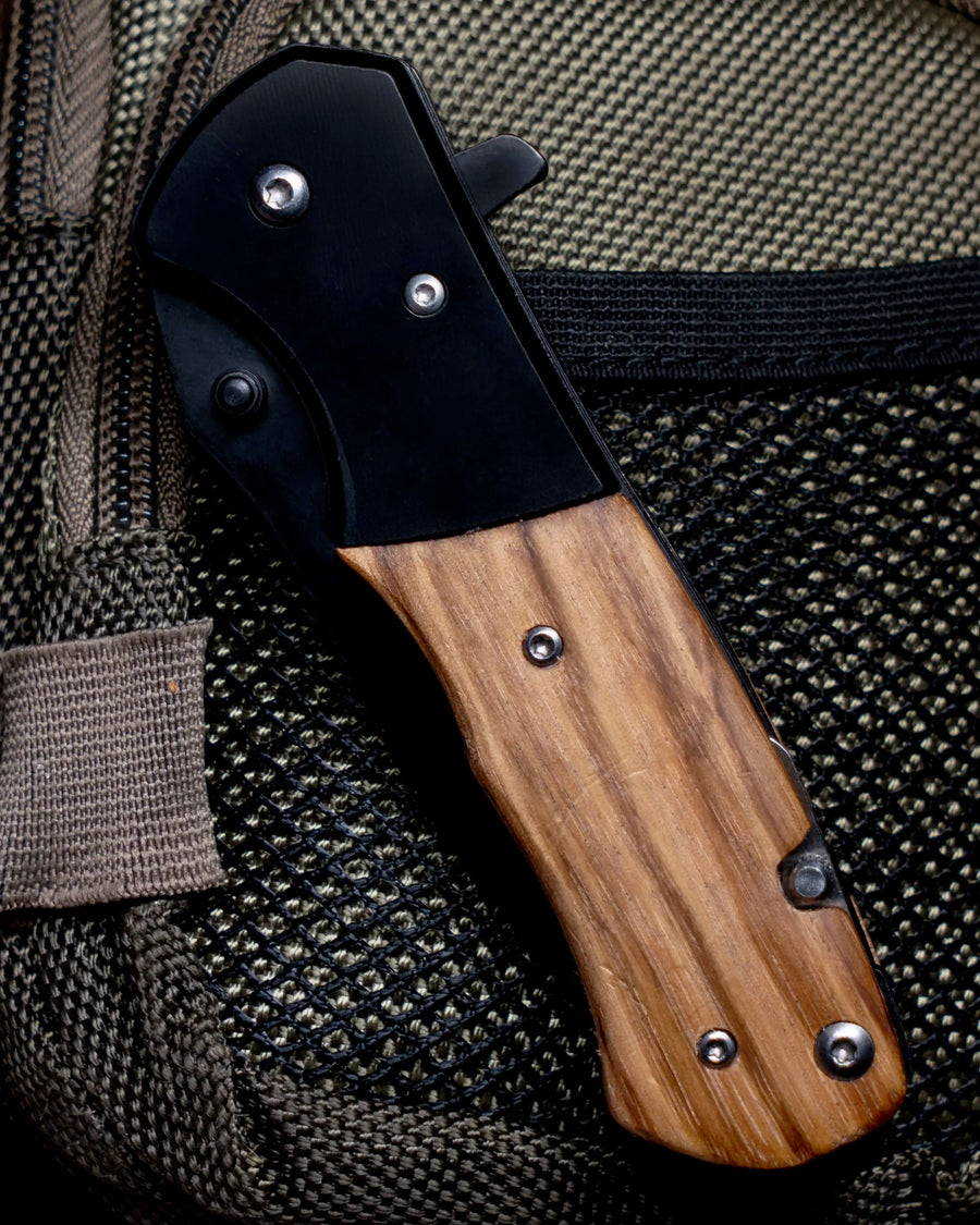 MakerFlo - Utility Knife Natural Wood