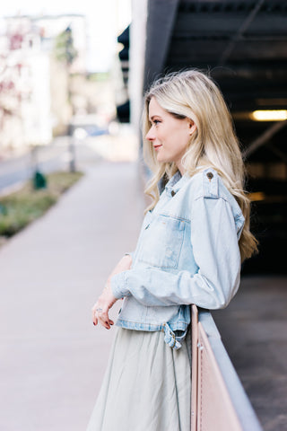 Archer Light Wash Denim Jacket