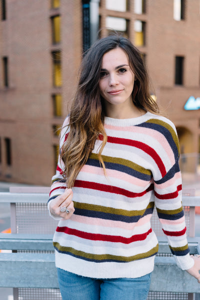 Karis Multi-Striped Sweater