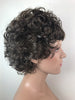 "Style #177 - ""CURLS FOR GIRLS""! A Stunning Mid-Length Med Curly capless wig style made with pre-curled synthetic hair fibers"