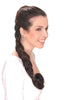 "Style #214 - Braided Switch @ 26"" Synthetic Hair; makes Great Ponytails & Chignon; new multi-system attachment"